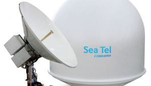 SOLD – SEATEL 6009 VSAT FOR SALE incl below deck equipment